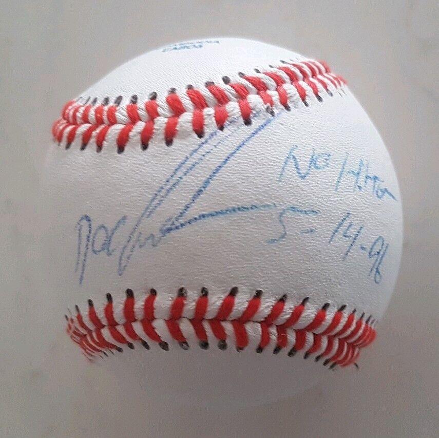 Dwight Doc Gooden Cy Young triple corona Prueba cert. de autenticidad Rawlings MLB de béisbol firmado