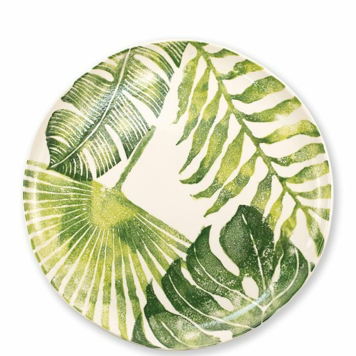 Vietri dans le Jungle Multi-Feuille Plat Rond-Lot de 2