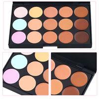 HOT 15 Color Beauty Pro Contour Face Cream Makeup Concealer Palette Eyeshadow DH