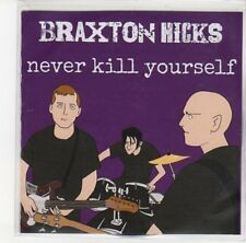 (DL574) Braxton Hicks, Never Kill Yourself - 2012 DJ CD