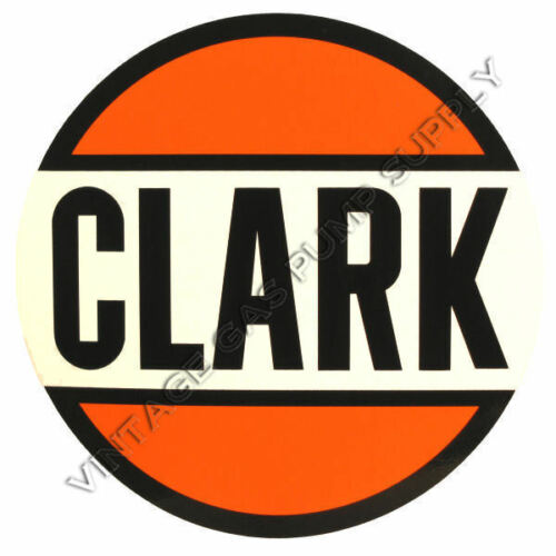"DC106 Clark 12/"" Vinyl Decal"