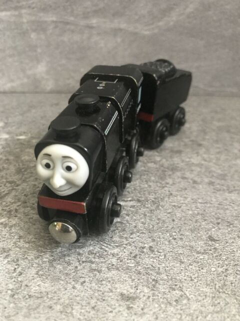 Thomas & Friends Wooden Railway Train Neville Engine, Tender 2003 EUC