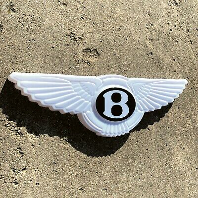 BENTLEY WINGS 3D LED ILLUMINATED LIGHT GARAGE SIGN PETROL GAS OIL AUTOMOBILIA