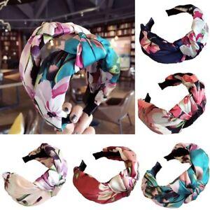 Women-Grils-Headband-Twist-Hairband-Bow-Knot-Cross-Tie-Headwrap-Hair-Band-Hoop
