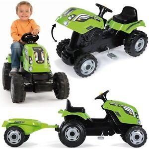 kindertraktor farmer xl gr n anh nger traktor f r kinder. Black Bedroom Furniture Sets. Home Design Ideas