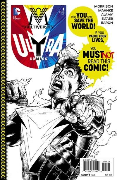 Comics CB15505 Multiversity #1 Blank Cover Variant Edition D.C