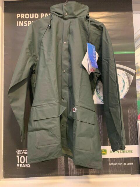 4820 Flexothane Dortmund Rain Jacket Green Medium