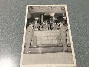 PHOTO  CARD 1950's  BACARDI RUM / HATUEY singing GROUP LOS XEY song LYRICS back