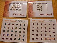 Belly Dance Bindi (sticker Tattoos) Lot Of 4-pearl Fancy-bollywood Usa Seller