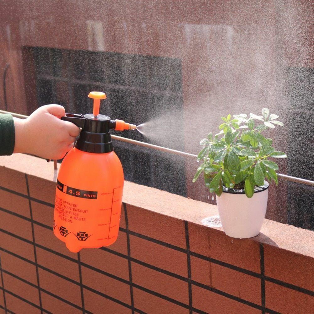 2L/3L Hand Pressure Sprayer Brass Nozzle Pump Type For Garden Irrigation Tools