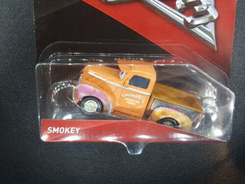 DISNEY PIXAR CARS 3 SMOKEY LONG OR SHORT 2017 SAVE 6/% GMC