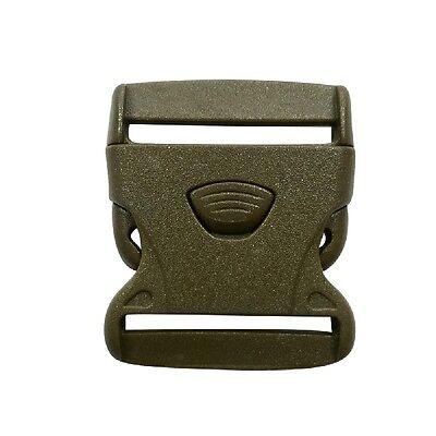 Sport Gurtband 50mm 3pkt Oliv Flight Tracker 10 Stück Klickverschluss /klippverschluss