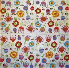 Pavone Rosso Tassotti 4x Paper Napkins for Decoupage Craft and Party