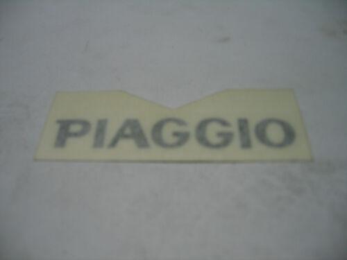 Piaggio Vespa alle Modelle PIAGGIO-Schriftzug Aufkleber schwarz 6cm breit 574399