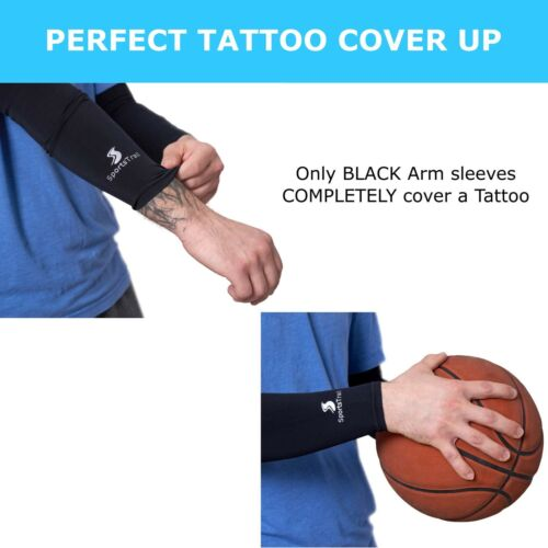 1 pair UV Protective UPF 50 Long Sun S... Cooling Arm Sleeves for Men /& Women