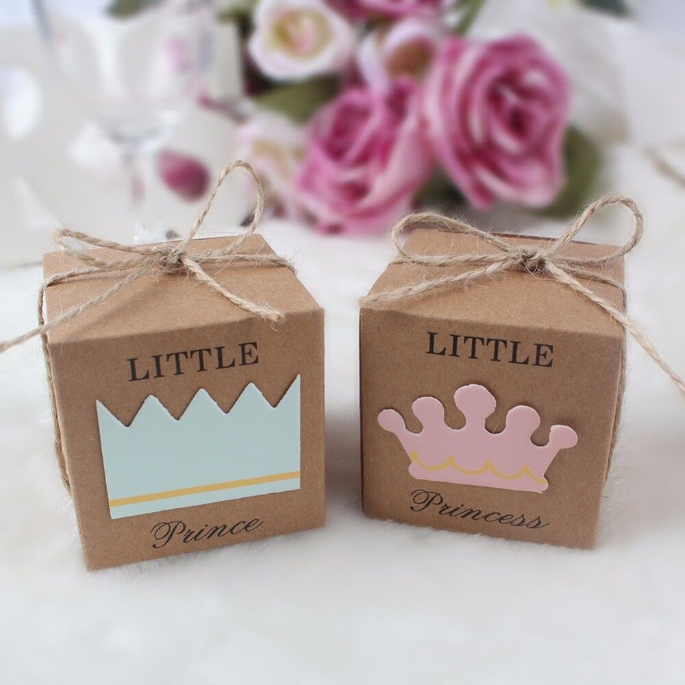 10pcs Candy Box Baby Shower Favor Gift Candy Box Boxes Kids Birthday Party Cheap