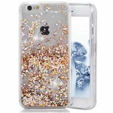 iPhone 7 Plus Glitter Case Creative Design Flowing Liquid Love New Free Shipping