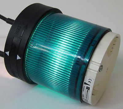 SCHNEIDER ELECTRIC XVB C33 USED GREEN LENS STACK LIGHT XVBC33