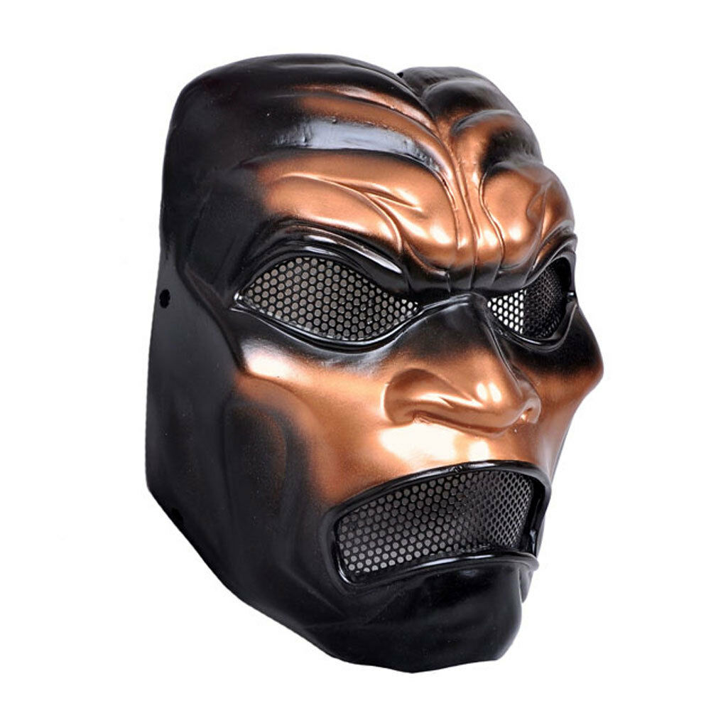 COOL Paintball Airsoft Wire Mesh Predection Sparta 300 Warrior Mask PROP M0513