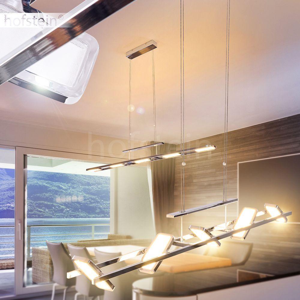 LED Hänge Lampen Ess Wohn Schlaf Zimmer Leuchten Pendel Beleuchtung verstellbar