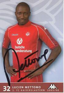Lucien-Mettomo-FC-Kaiserslautern-Fussball-Autogrammkarte-signiert-353053