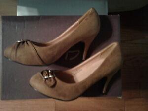 "DBDK Fashion Nordstrom Womens 7 Brown Pumps ""Lieon-3"" Shoes High Heel New No Box"