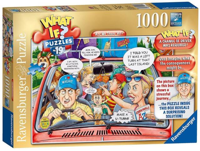 Ravensburger 19813 What if? No.19 Are we there yet? 1000pc Jigsaw Puzzle - Multi
