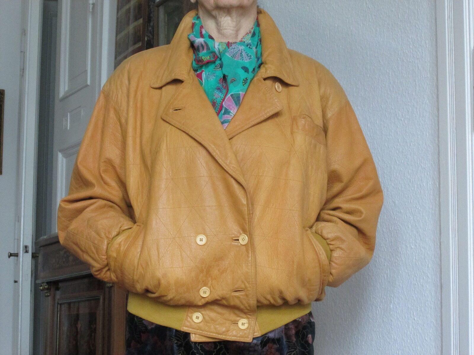 Giacca Giubbotto in di Vera PELLE Uomo Slim Fit Fit Fit Ns Produzione Sped. Gratis  5s1 437c16