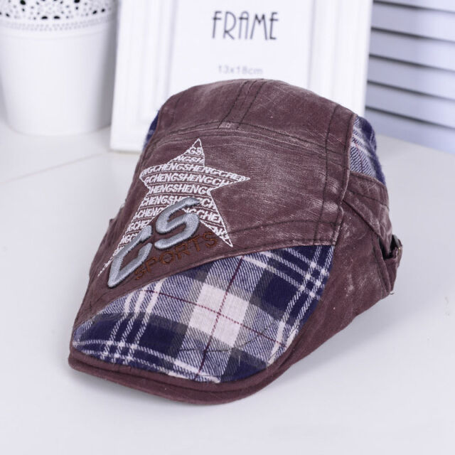 New Fashion Boys Girls Classic Star Children Kids Cool Hat Cap Beret Sun Hat