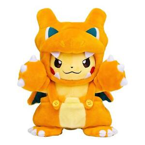 Pokemon-Center-Original-Muneco-De-Peluche-Pikachu-Charizard-mania-Japon