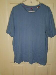 Tommy-Bahama-Men-039-s-Short-Sleeve-T-Shirt-Size-Large-Blue-Pima-Cotton