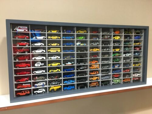 100NGG-7 hot wheels, matchbox Display case cabinet for 1//64 diecast scale cars