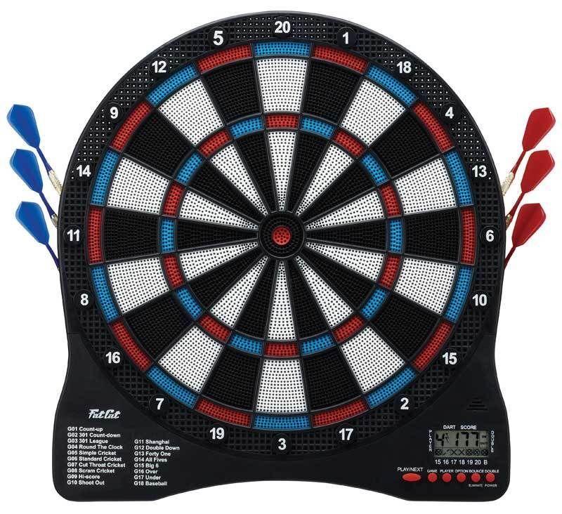 Fat Cat Sirius 13  Electronic Dartboard 42-1029  darts flights tips