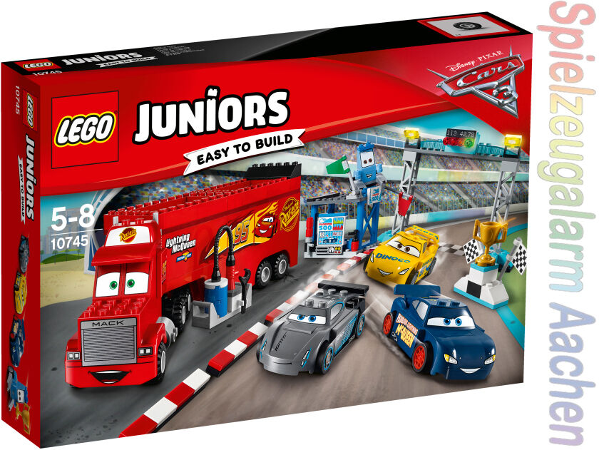 Lego 10745 Juniors Cars finale Floride 500 Race n9 17