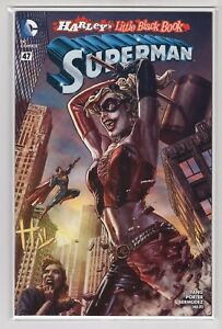 Superman-Issue-47-034-Harley-039-s-Little-Black-Book-034-DC-Comics-Variant-Cover