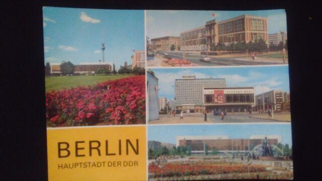 Schöne Mehrbild AK Berlin Ost DDR Palast der Republik Kino Staatsrat 1978 B170