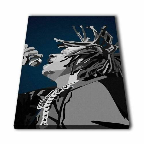 Rapper trippie Redd Impressão em Preto e Branco Pintura Quadro Arte De Parede Casa De Lona DÉ