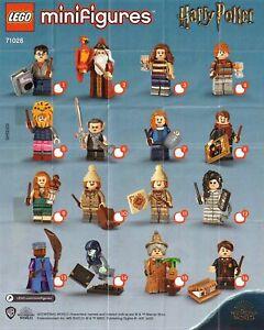 Lego 71028 - Complete Set of 16 - HARRY POTTER Series 2 Minifigures Lot
