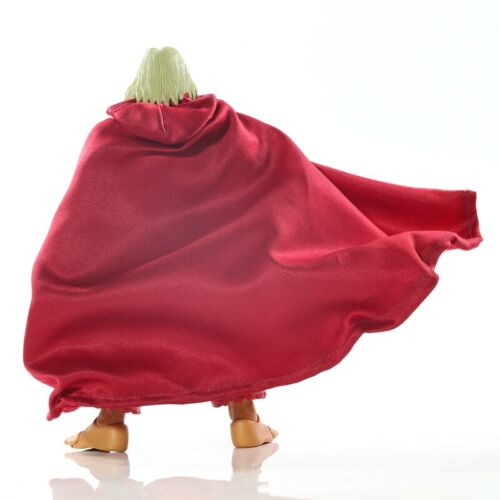 "Custom 1//12th Storm Brainwash Violent Ken Red Man Cloak Model for 6/"" Action Doll"