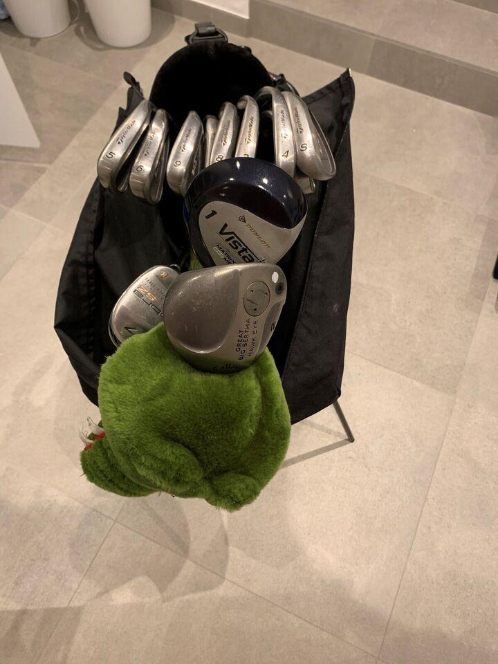 Herre golfsæt, stål, Taylormade
