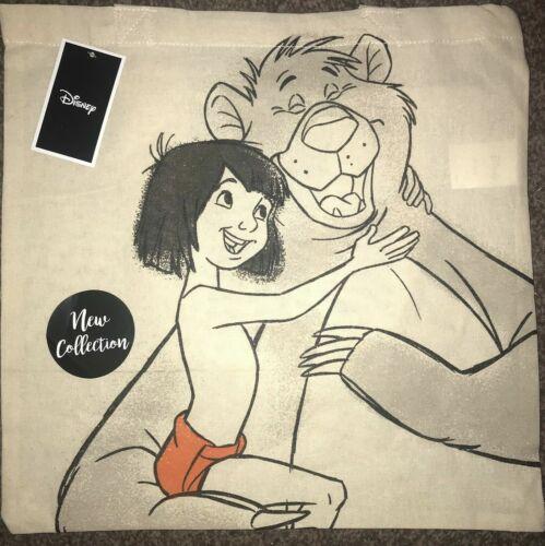 Cotton Canvas Tote Bag Disney Dumbo Mickey Mouse Mulan Ariel Dopey WALL.E Winnie