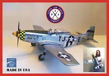 Paper Air Force P-51D Mustang Model Kit - New Kit!