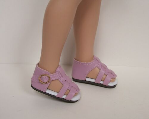 ORCHID Strappy Sandals Doll Shoes For Tonner 14 Betsy McCall (Debs)