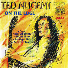 "TED NUGENT ""On The Edge"" CD 14 Tracks New and Sealed Cosmus DSB"