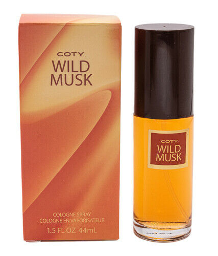 Coty Wild Musk Cologne Spray Perfume for Women 1.5 oz New In Box