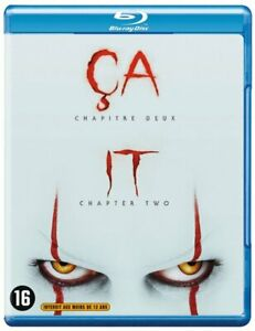 BLU-RAY-IT-CHAPTER-TWO-2019-JESSICA-CHASTAIN-NEW-NIEUW-SEALED