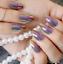 20-design-shiny-Mirror-Silver-False-Nails-french-Point-Metallic-Acrylic-Nail-uk thumbnail 25