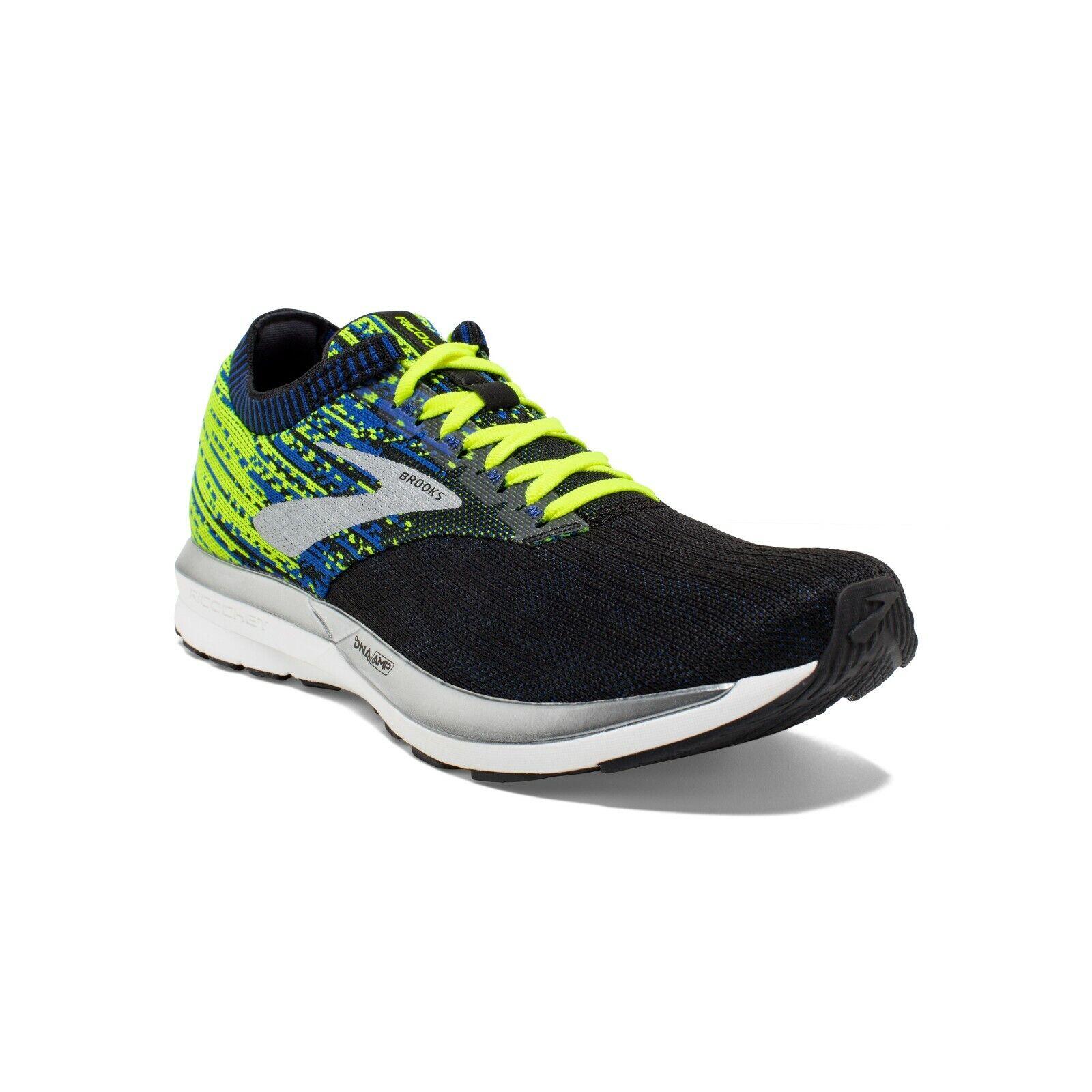 BROOKS RICOCHET chaussures FonctionneHommest hommes Neutral Energize bleu NIGHTLIFE 110293 004