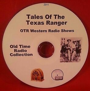 Tales-of-the-Texas-Rangers-OTR-MP3-CD-92-Old-Time-Radio-Shows-Audio-Book