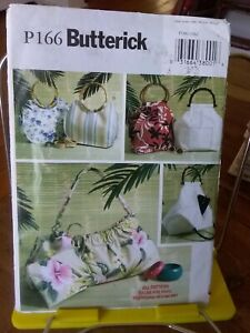Oop-Butterick-166-misses-summer-handbags-satchels-NEW